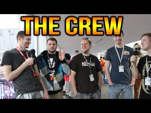 Interview w/THE CREW - (@KYR_SP33DY, @NobodyEpic, @JahovasWitniss, & @LEGIQN) - PAX East 2014!