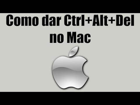 Como dar Ctrl+Alt+Del no Mac