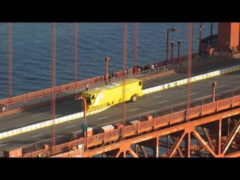 Golden Gate Bridge Zipper Truck and New Moveable Median Barrier Battery Spencer (January 11, 2015)