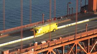 Golden Gate Bridge Zipper Truck and New Moveable Median Barrier Battery Spencer (January 11, 2015)
