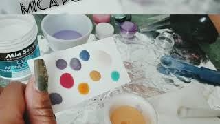 Making Mica Powder Acrylics