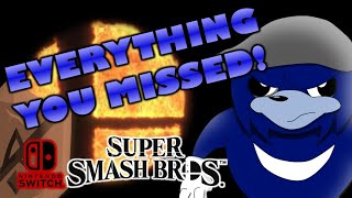 EVERYTHING YOU MISSED ABOUT SSB SWITCH! - Crafting Super Smash Bros Switch - Episode 1