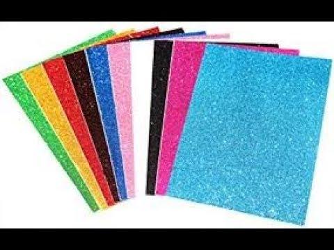 Glitter Foam Sheet Flower Craft Idea | DIY Foam Sheet Crafts | New Diy Craft idea | Foam sheet craft