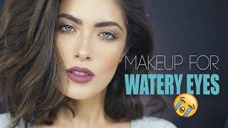 """GRWM"" Makeup for Watery Eyes | Melissa Alatorre"