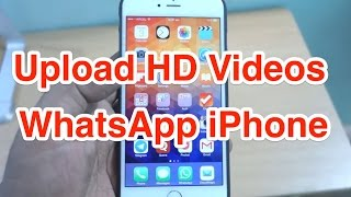 How to Upload HD Video on WhatsApp iPhone?(Simple tutorial to Send HD Videos to your WhatsApp Friends and Groups. Here i downloaded HD Video from Youtube and sent to one of my friend in WhatsApp ..., 2015-02-03T05:43:33.000Z)
