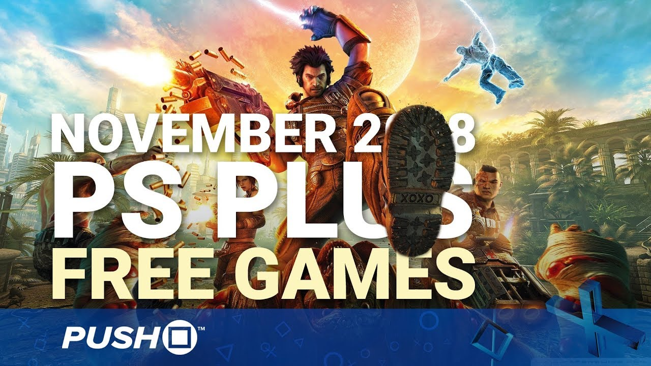 Free Ps Plus Games Announced November 2018 Ps4 Ps3