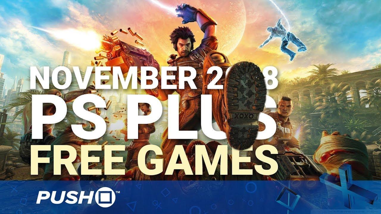 Free PS Plus Games Announced: November 2018 | PS4, PS3, Vita | Full PlayStation Plus Lineup ...
