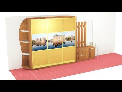 Изготовление шкафов на заказ в Москве по индивидуальным