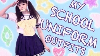 One of Princess Peachie's most viewed videos: My School Uniform Outfits