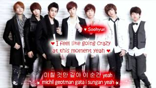 ukiss let's get eng sub with lyrics on screen colour coded ukiss ♥O...
