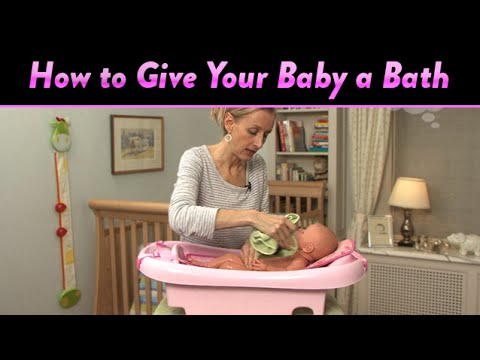 How to Give Your Baby a Bath | CloudMom - YouTube