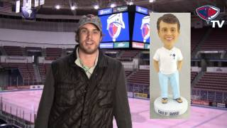 "South Carolina Stingrays - ""Southern Charm"" Shep Rose Bobblehead Night"