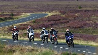 �������� ���� Mid-weight Sports Tourers: Yamaha Tracer 700 vs BMW, Honda, Kawasaki and Suzuki  | Bike Social ������