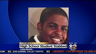 Cabrillo High School Student, 15, Stabbed To Death In Long Beach