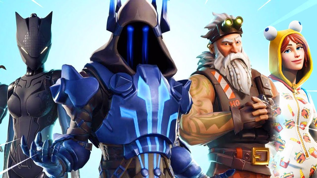 The Fortnite Season 7 Battle Pass Skins Youtube