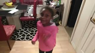 Young Kid Rapping And Dancing