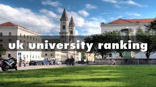 uk university ranking