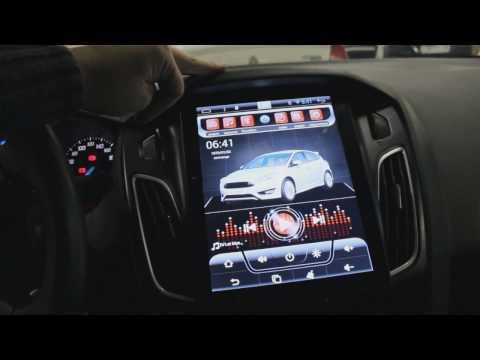 Установка и демонтаж Автомагнитолы MegaZvuk AD-1065 Ford Focus III (2011-2015) Tesla Style