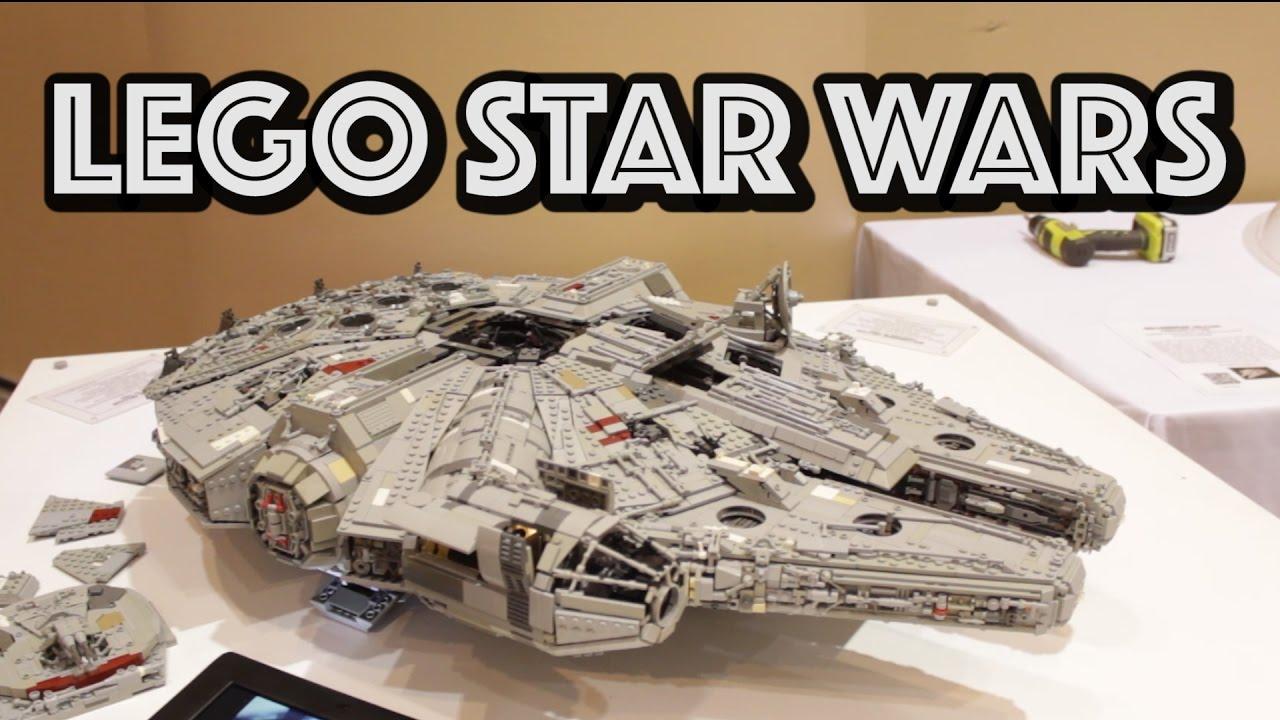 100% Custom LEGO Millennium Falcon from Star Wars - YouTube