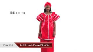 African Brocade clothing from Senegal Bazin Fabric
