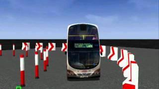 mm2 周圍走 23 kmb volvo b9tl 9m avsbw1 virtual in driver test city