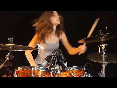 Roundabout yes drum cover by sina