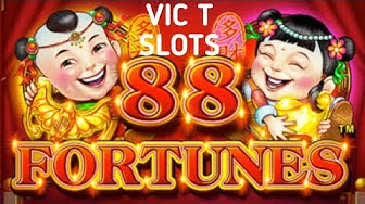 88 FORTUNES FREE SPIN BONUSES, PROGRESSIVE PICKS AND BIG WINS 1 CENT AND 5 CENT (MUSIC BY BENSOUND)