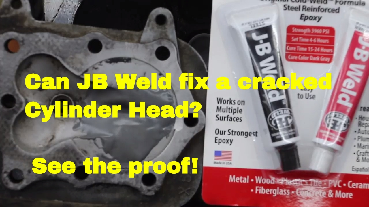 Can Jb Weld Fix A Cracked Cylinder Head See The Proof Youtube Straight Wiring 50cc Atv