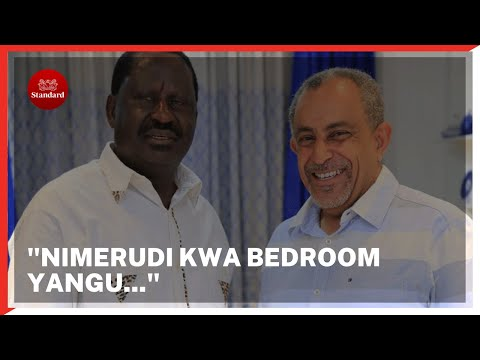 Mombasa businessman Suleiman Shahbal ditches Jubilee for Raila's ODM party ahead of 2022 polls