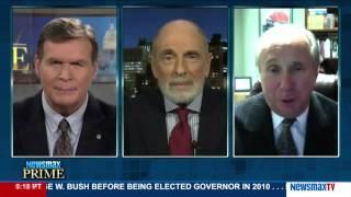 Newsmax Prime | Ed Klein and Michael Reagan debate Donald Trump's run for president