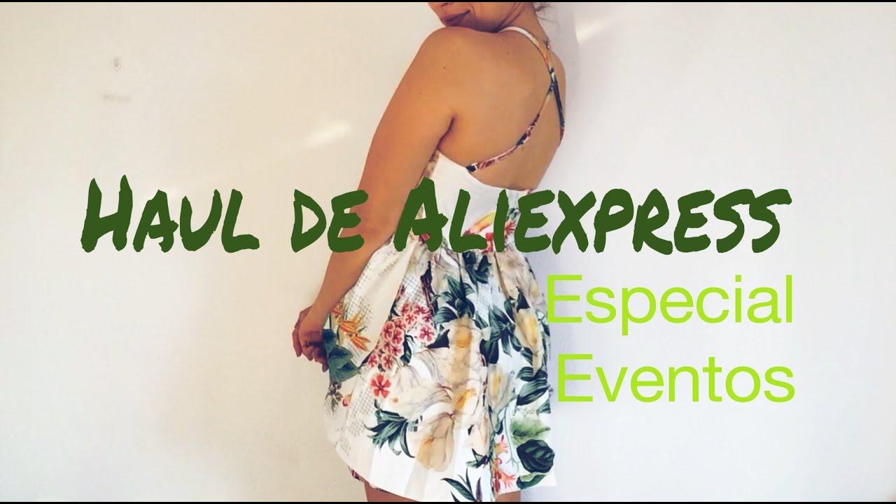 Haul Aliexpress (y +) - Especial eventos