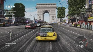 GRID (2019) - Paris Gameplay with Super Hatch Cars (New Location and Cars) - Season 1 Update