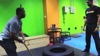 Juan Miranda & Michael Ynoa. Peloteros entrenando en JRPERFORMANCE