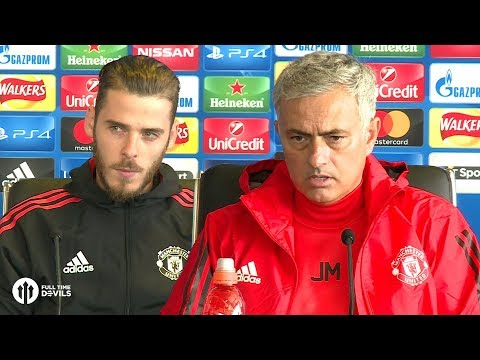 Jose Mourinho & David De Gea FULL PRESS CONFERENCE Manchester United vs FC Basel