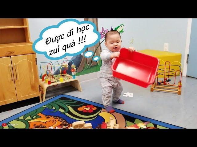 🎒Nhà Trẻ Daycare chỉ $10/ngày 📖Cách đi học Tiếng Anh miễn phí ở Mỹ Canada | Quang Lê TV #178