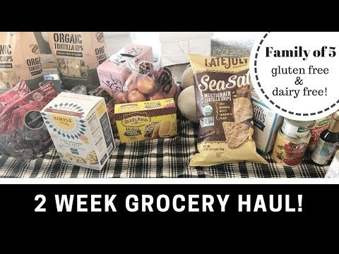 ✨MASSIVE GROCERY HAUL (Celiac, Gluten Free, Dairy Free, Whole 30 Friendly!)