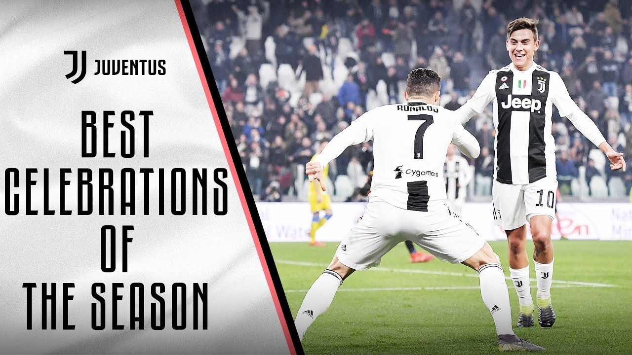 Best Juventus Goal Celebrations Of The 2018 19 Season