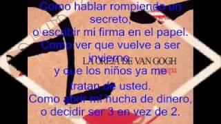 Irreversible-La Oreja De Van Gogh Con Letra
