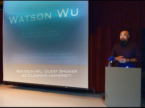 Watson Wu as Guest Speaker at Clemson University