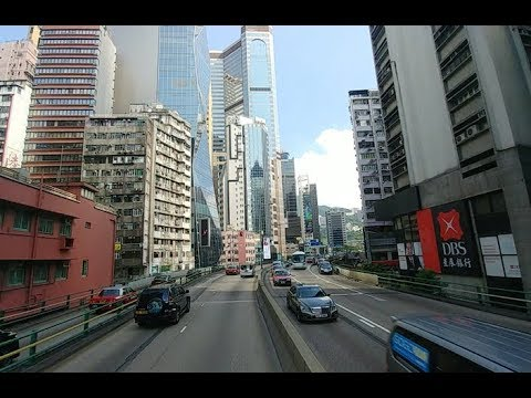 Amazing Time-Lapse Journey Along Hong Kong's Winding Elevated Roads