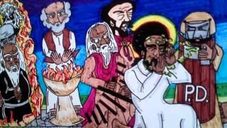 CRUCIFIXION del Etiope Hebreo Israelita Negro y Cafe en las Americas-Pasion del Cristo NEGRO