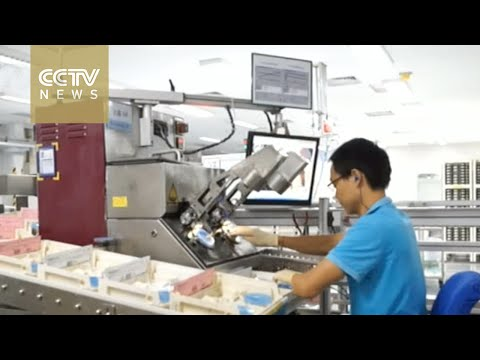 Chinese factories turn to robots and automation, replacing human workers demanding higher wages
