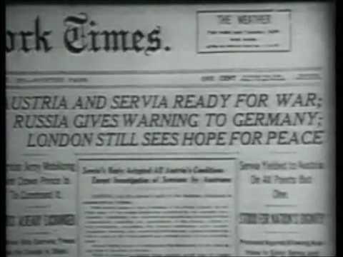 Prima Guerra Mondiale e sistema delle alleanze