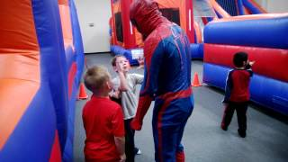 Max's 6th Birthday party with special guest The Amazing Spiderman
