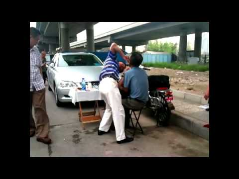 Street Dentists in China, Beijing