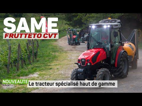 New / SAME Frutteto CVT / Le tracteur spécialisé haut de gamme Mp3