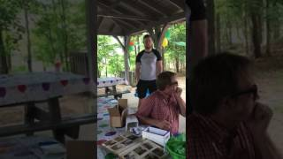 Color blind 50 year old sees color first time, so sweet and heartwarming. Chris Smelcer