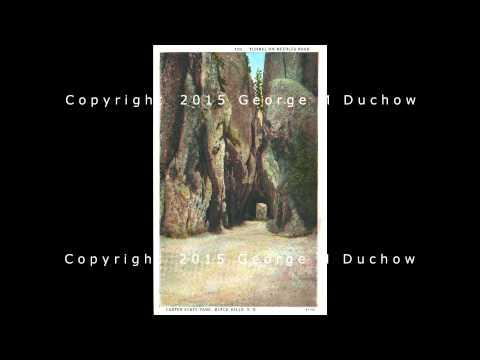 1927 CUSTER STATE PARK, SOUTH DAKOTA POST CARD BOOKLET