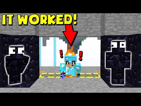 GREATEST MINECRAFT CAMO TRAP! (Minecraft Trolling)