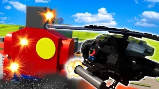 GIANT MUTATED LEGO BOB ATTACKS LEGO CITY! - Brick Rigs Gameplay Roleplay - Lego Crime Investigation